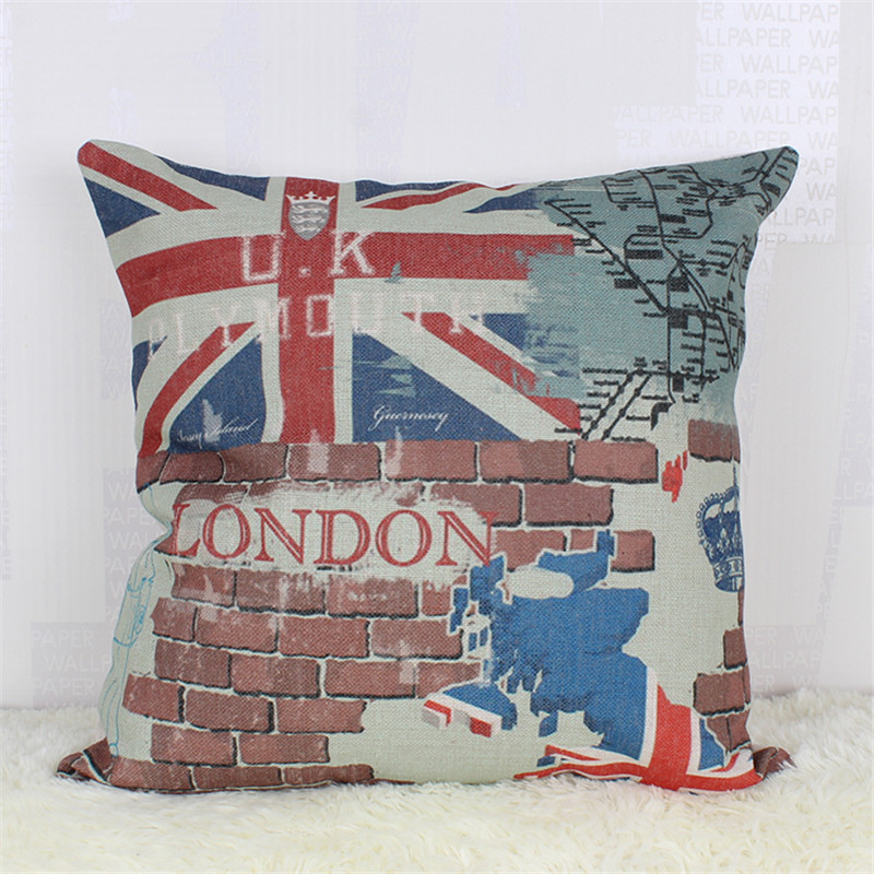European Decorative Pillows : Aliexpress.com : Buy 2016 Fashion European Decorative Cushions New London Builing Style Throw ...
