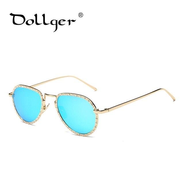 a9c3c377b38c9b Dollger Vintage Diamant Pilote lunettes de Soleil Femmes 2017 Lunettes de  Soleil femmes lunette de soleil