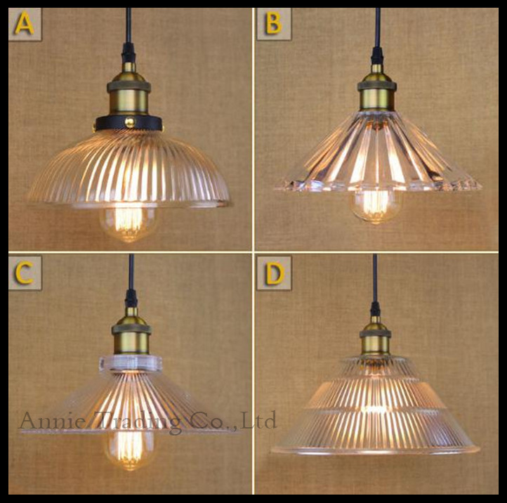 copper glass pendant lights industrial lighting lamparas luminaire suspendu edison light fixtures country retro lampen luce