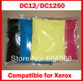Pó de toner de cor compatível para Xerox dc12 / dc1250