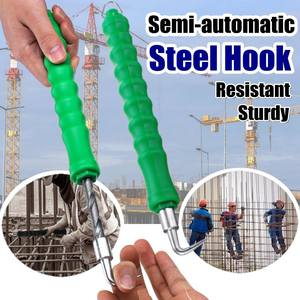 Tie Steel-Hook Winding-Tool Construction Semi-Automatic Site Straight-Pull-Wire