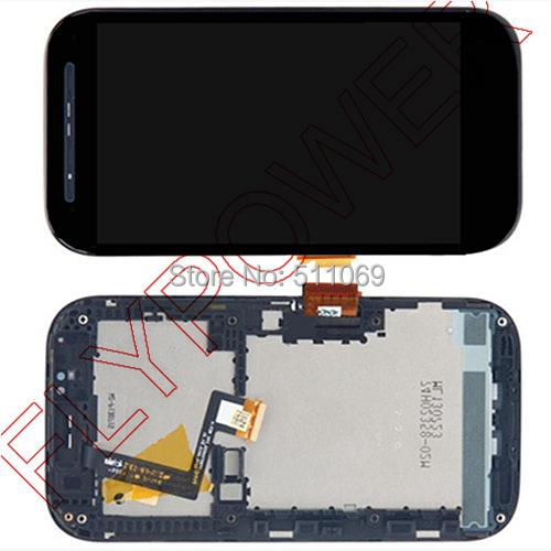ФОТО For HTC Desire SV T326e LCD Screen Display With Touch Screen Digitizer+Frame Assembly By Free Shipping; Black; 100% warranty