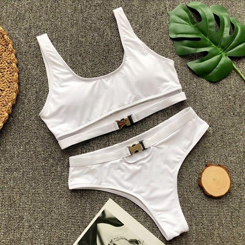 HTB1RTGqDv5TBuNjSspcq6znGFXab Vertvie Bikini 2019 Swimwear Women Swimsuit Sexy Bikini Set Solid Bathing Suit Brazilian Beachwear Push Up Maillot De Bain Femme