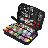Home Sewing Set Bag Ergonomics Knitting Needles Aluminum Weave Craft Diy Sewing Tools Stitch Loom Kit