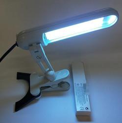 Para lámpara UVB PL-S 9 W/01/2 P 9 W banda estrecha 311nm PLS9W/01/2 P Psoriasis de fototerapia para Vitiligo