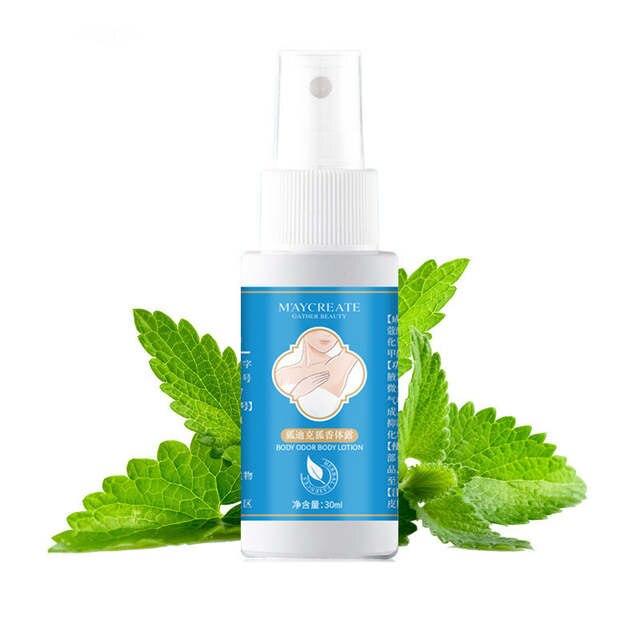 Herbal Alami Deodorant Spray 30 Ml Produk Tanaman Bau Memurnikan Air  Pewangi Ketiak Penghilang Bau Semprot