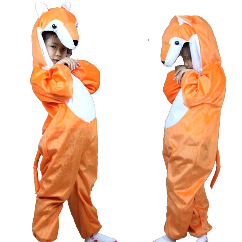 Children's Day Party performance clothing Kid Cartoon animal suits Animal Fox Cosplay costume Fancy dress