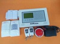 Ekran dotykowy Dwa Czujnik PIR Dwa Drzwiowy 433 Mhz GSM System Alarmowy