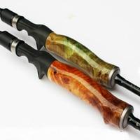 1.98/2.1/2.4 м спиннинг приманки удилище приманка стержень Мощность m/ML/MH деревянной ручкой супер жесткий углеродного Рыбалка стержень Рыбалка п