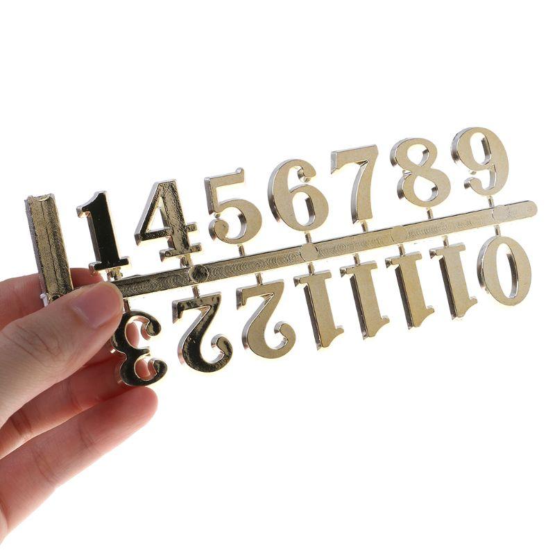 Восстановление древних способов цифровые аксессуары кварцевые часы механизм для ремонта часов DIY часы цифровые части арабские цифры