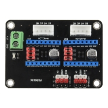 3D Printer Dual 42 Stepper Motor Drive Expansion Board 8825 / A4988 10pcs free shippingdip24 l6219 motor drive dual 100