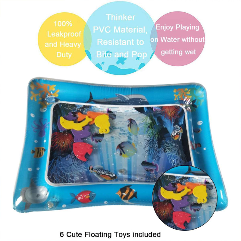 65x50cm-Baby-Kids-Water-Play-Mat-Inflatable-Pad-with-Cute-Floating-fish-Toys-Baby-learning-toys