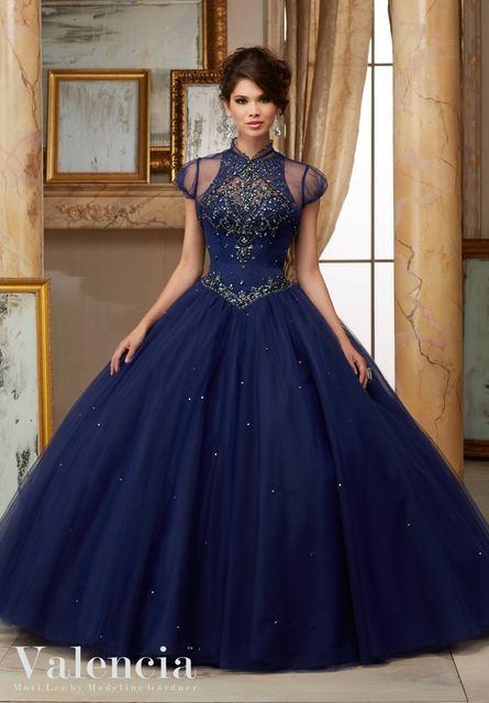 Aqua azul quinceanera vestidos open back sexy vestido de quinceanera 2016 a line mangas beading espartilho vestidos quinceanera