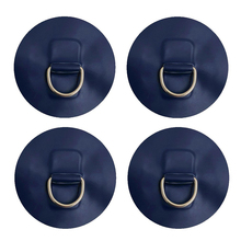4Pcs D Ring Dinghy Surfboard Small Inflatable Boat Stainless Steel Round Canoe 11cm Raft Accessory Durable Pads Patch