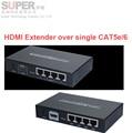LKV374 HDMI Удлинитель Над cat5e/cat6 Full HD 1080 P Передатчик Приемник 120 М HDMI Конвертер Ж/HUB 4-LAN Выход беспроводной адаптер