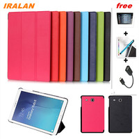 2016 New Wholesale Case For Samsung Galaxy Tab E 9 6 T560 T561 Tablet Case 9