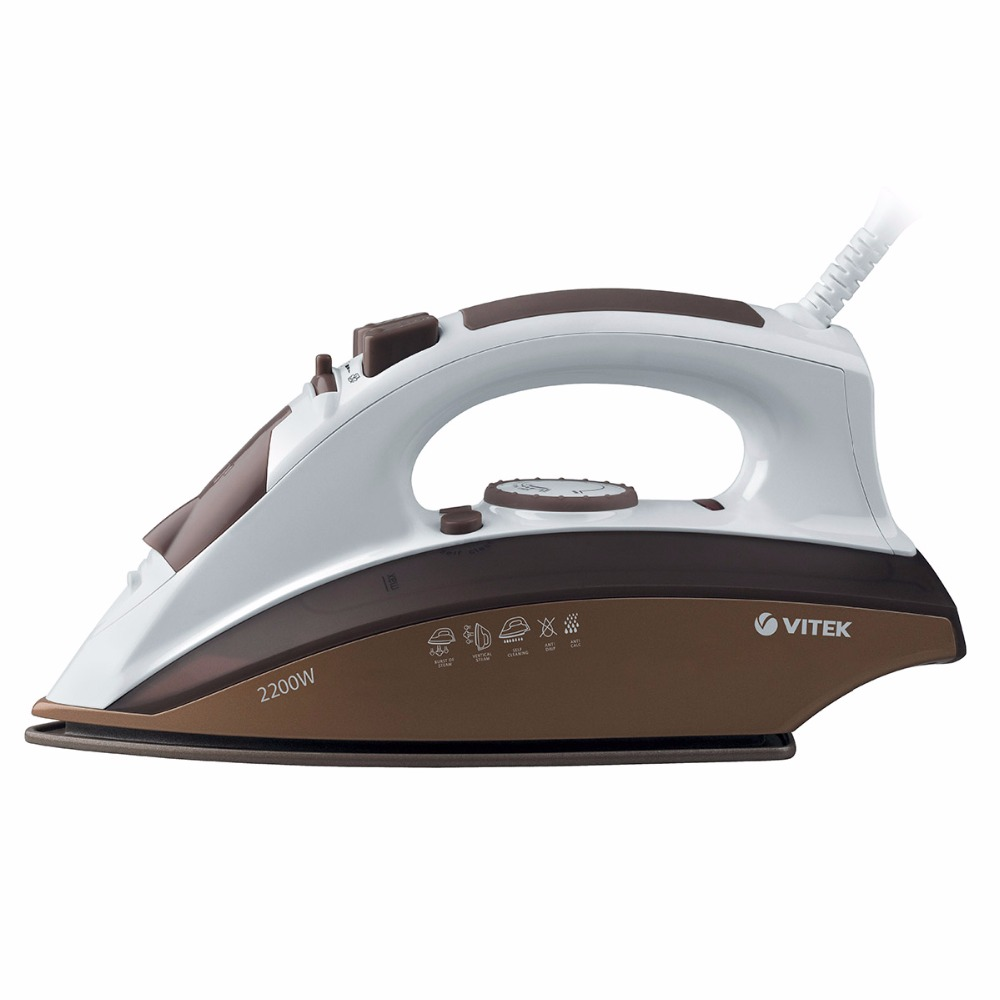 Steam iron VITEK VT-1209(BN) iron vitek vt 1215 iron steam generator iron for ironing irons steam iron electriciron