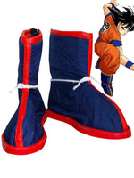 Dragon Ball Goku Cosplay Shoes Boots For Adult Men's Halloween Party Cosplay Boots Custom Made