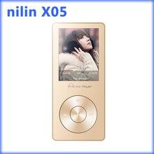 Mini ni'lin X05 Altavoz Reproductor de Mp3 con altavoz 8 gb Deporte apoyo Tarjeta Micro DEL TF Radio FM Ebook Video Reproductor de mp3 Reproductor de Música