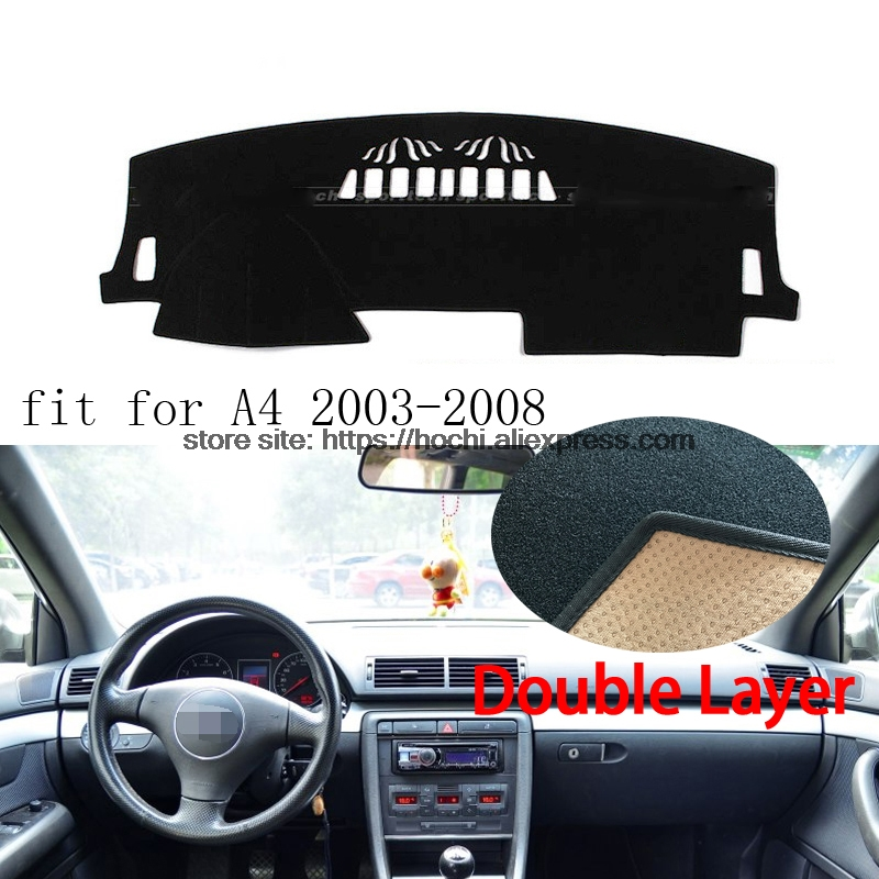 For Audi A4 2003 2016 Double Layer Silica Gel Car