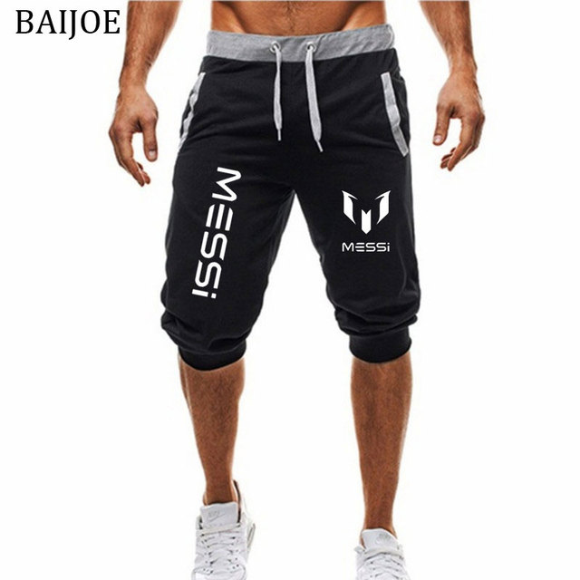 Messi Cotton Fitness Joggers For Men