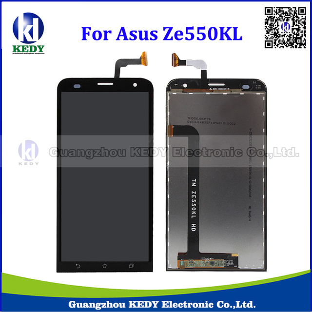 10pcs 100% Spotless Original LCD Display Touch Screen For Asus ZenFone 2 Laser ZE550KL Z00LD LCD Digitizer Assembly