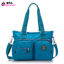 JINQIAOER Brand Nylon Bag Large Capacity Women Shoulder Bag Waterproof Handbag Female Casual Tote Fashion Crossbody Bag For Lady