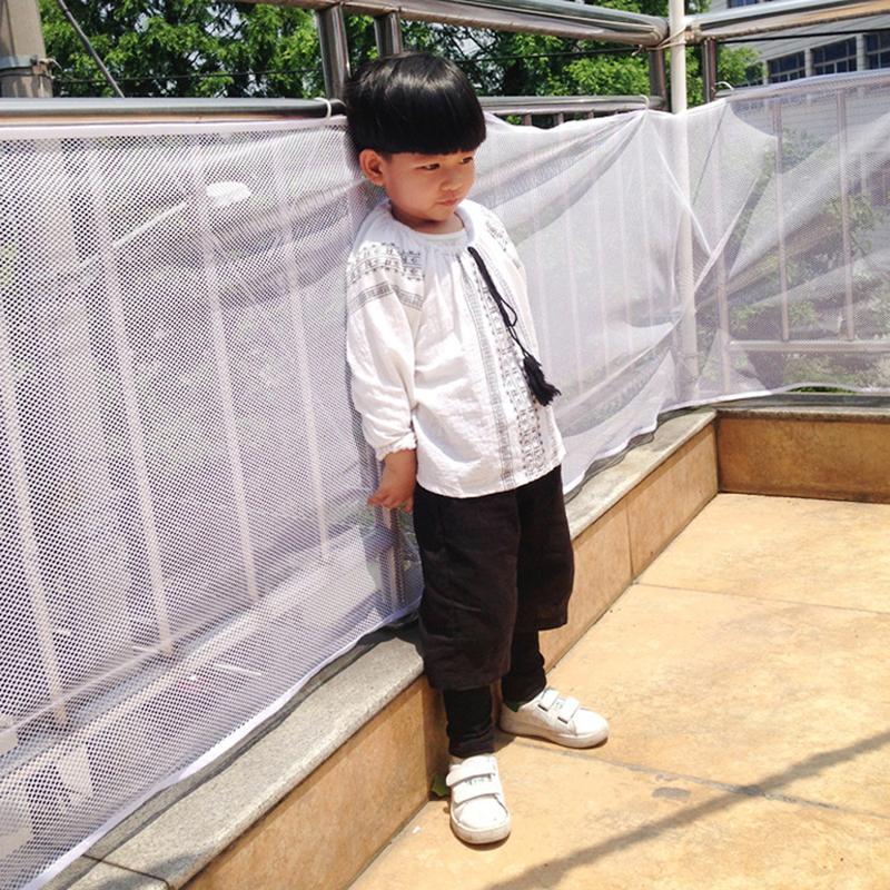 Children Thickening Fencing Protect Net Balcony Child Fence Baby Safety Fence Safety Net For Balcony Mu881388