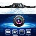 Universal 7 LED HD A Prueba de agua CMOS de Imagen de Matrículas de Coches cámara de 135 visión Nocturna de Visión Trasera de Copia de seguridad de La Cámara NTSC TV sistema