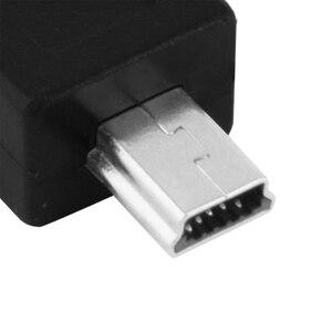Image 3 - Marsnaska Portable and Stylish Black Color Micro USB Female to Mini USB Male Adapter Converter Convenient to Use