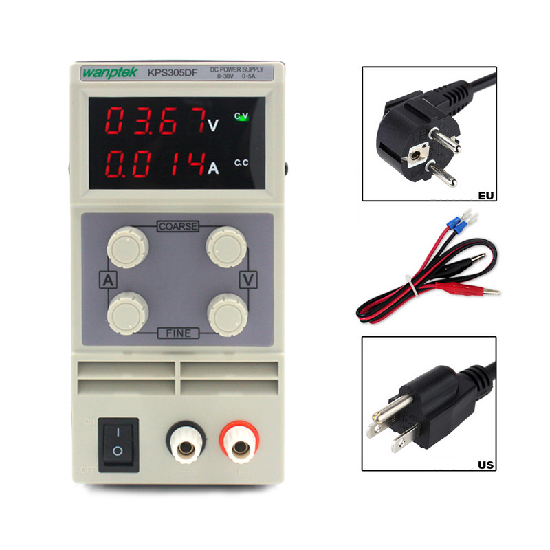 0-30V/0-5A Mini Laboratory DC Power Supply LED Digital Adjustable Variable Switch DC Power Supply High Accuracy DC Power Supply 1200w wanptek kps3040d high precision adjustable display dc power supply 0 30v 0 40a high power switching power supply