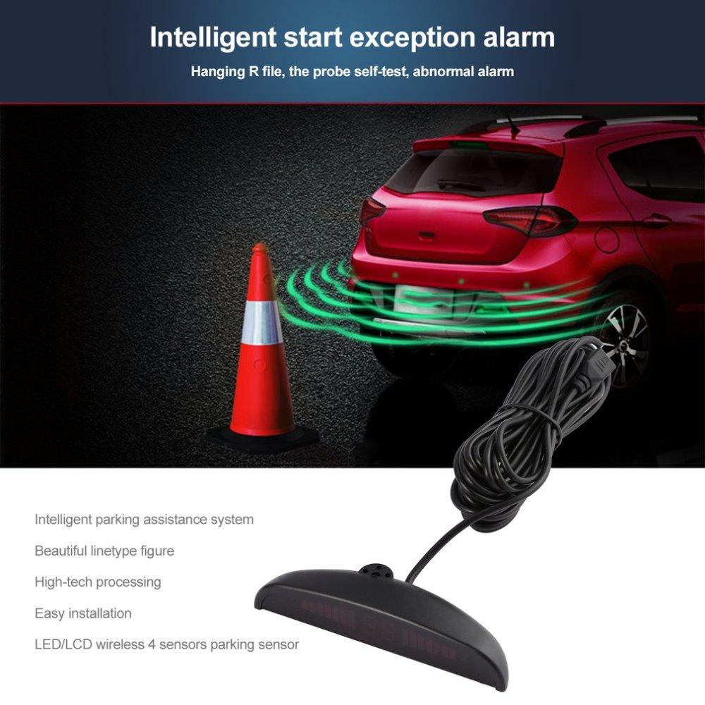 LED Umkehr Radar Fahrzeug Europäischen Kennzeichen Rahmen Auto ...