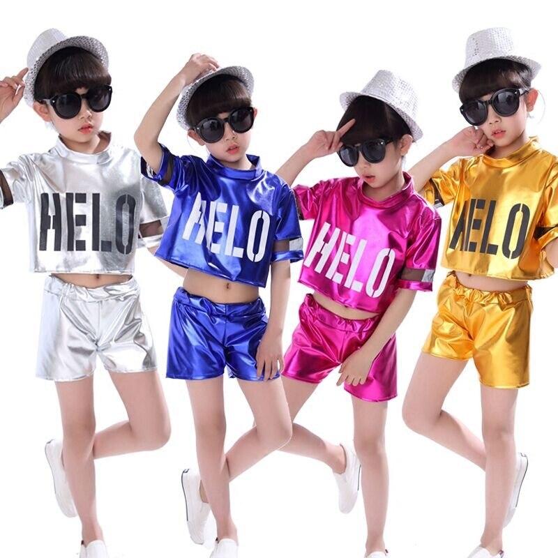 Detalle Comentarios Preguntas sobre Niños Jazz Dance trajes glisten Niños  Niñas hip hop moderno danza ropa set niños Jazz Dance wear en  Aliexpress.com ... a0eeb73445c