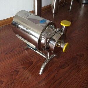 Image 3 - 610 0.37kw 220v50hz Food Grade ze stali nierdzewnej stali nierdzewnej alkohol pompa sanitarna pompa do mleka