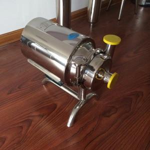 Image 3 - 610 0.37kw 220v50hz 食品グレードステンレス鋼アルコール衛生ポンプミルクポンプ