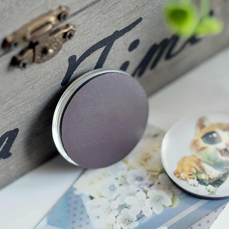 Love Heart ตู้เย็น magnet decor ดอกไม้ดาวหัวใจสีสัน 30 MM แก้วโดมตู้เย็นแม่เหล็กสติกเกอร์ข้อความ Home Decor