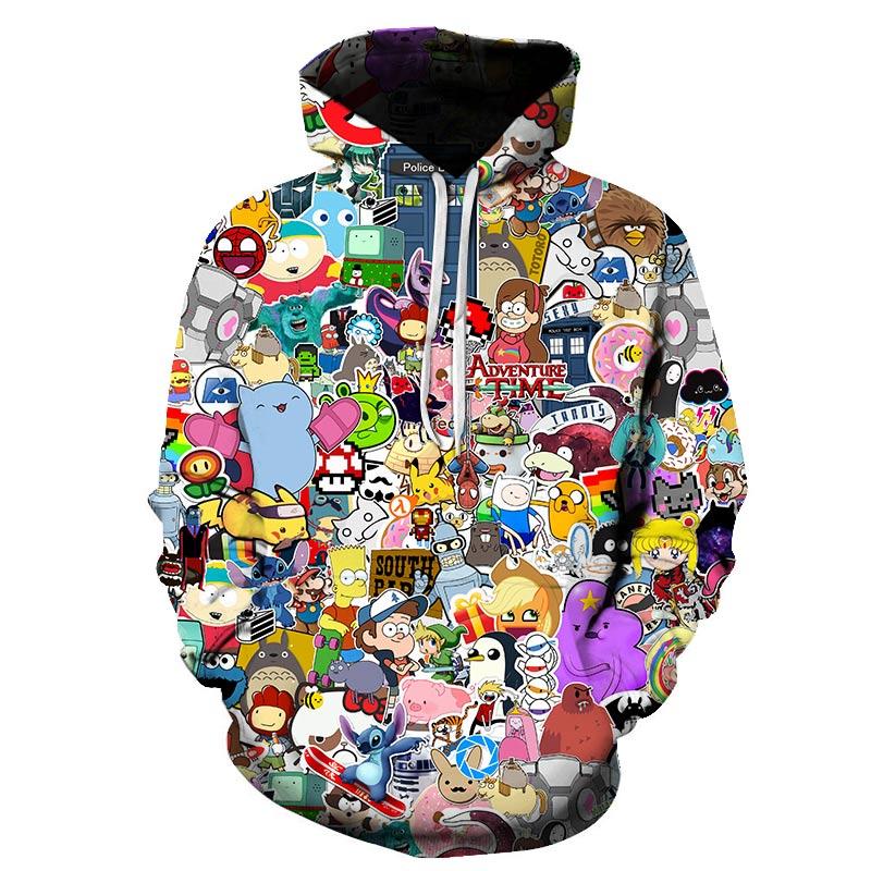 Image 3 - Men Women Anime My Neighbor Totoro Hoodie Cosplay Costume Warm Sweatshirts Unisex Cartoon Pullover Spring Casual Brand S 6XL-in Hoodies & Sweatshirts from Men's Clothing