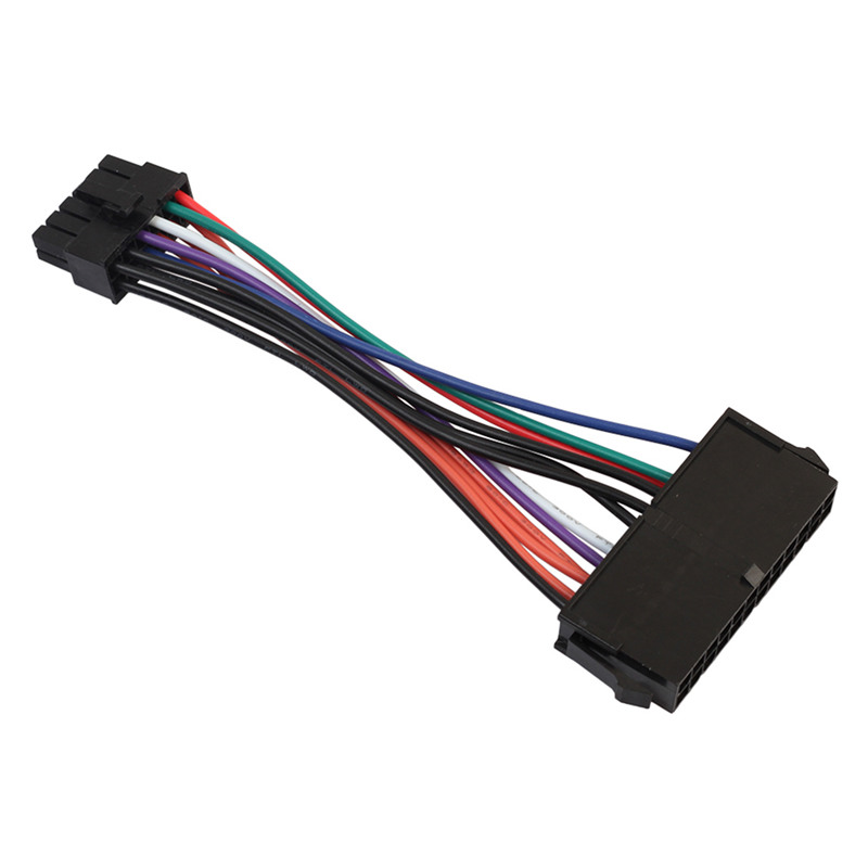 1pcs 24 <font><b>Pin</b></font> to <font><b>12</b></font> <font><b>Pin</b></font> PSU Main Power Supply ATX Adapter <font><b>Cable</b></font> for Lenovo IBM image