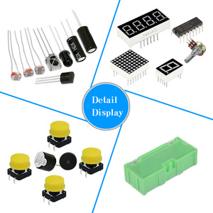 Image 3 - KEYES 1602 LCD 830 Breadboard LED Relay RTC Electronic Kit for Arduino Uno R3 Starter Kit Upgraded Version