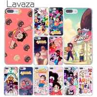 Lavaza Cartoon Steven Universe Hard Phone Case for iPhone XR XS X 11 Pro Max 10 7 8 6 6S 5 5S SE 4S 4 Cover