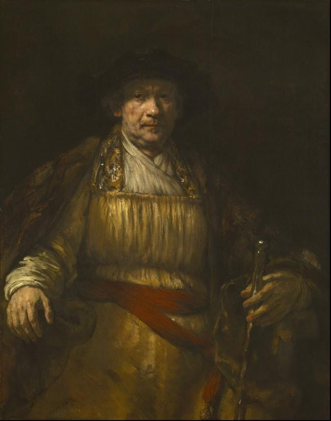 wholesale painting # TOP classical art work Rembrandt Harmenszoon van Rijn replica print oil painting ON canvas