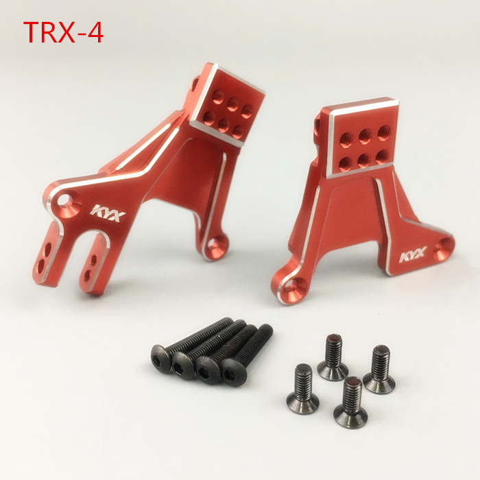 1/10 Climbing RC CAR Part Traxxas TRX-4 CNC Alloy Porous Seat Adjustable Front Shock Absorber Bracket Seat