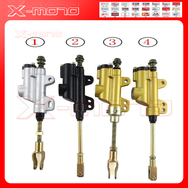 Brand-new Motorcycle Universal Cylinder Foot Rear Master Cylinder Hydraulic Pump Foot Brake new 50mm cylinder