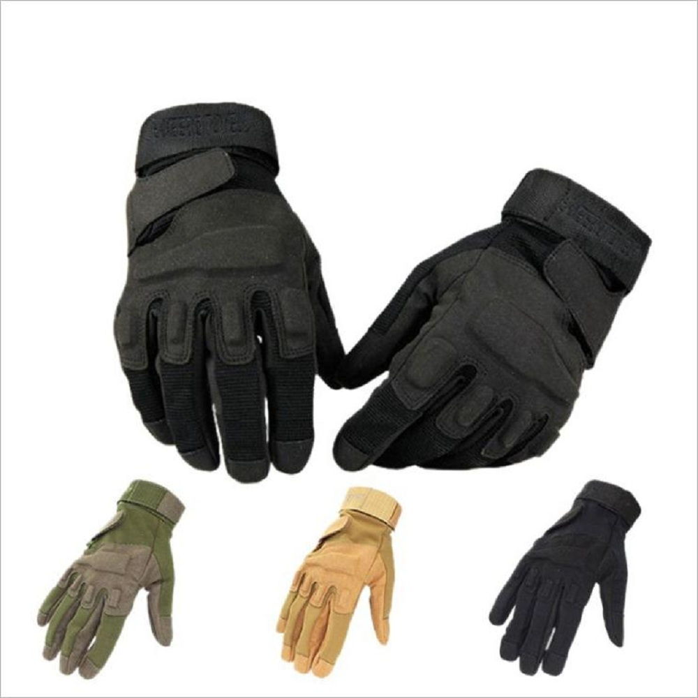 Winter Cycling Bicycle Motorcycle Mens Gloves Full Finger Outdoor Hiking Bike