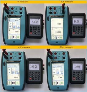 Image 3 - LB06 Hart Current voltage 4 20mA 0 10V/mV Signal Generator Source thermocouple PT100 temperature Process calibrator Tester
