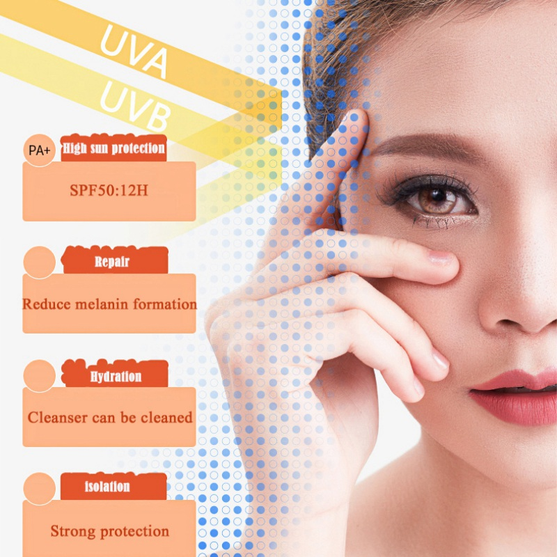 Sunscreen Isolation Of Ultraviolet Rays Moisturizing Waterproof Sunscreen Cream  Face Care For Face Body