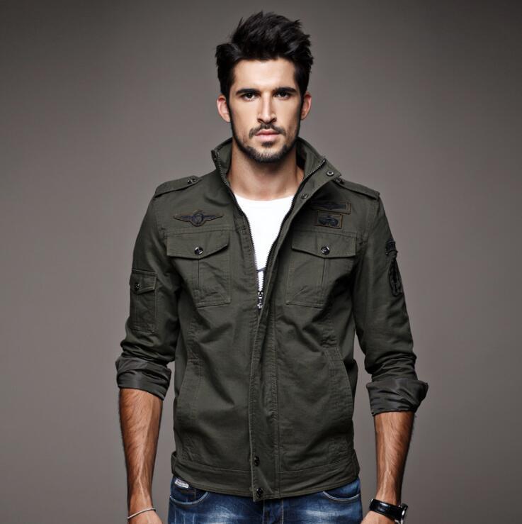 Tailleur Amour Automne Veste Hommes Coupe-Vent Réfléchissant Bomber - Vêtements pour hommes - Photo 3