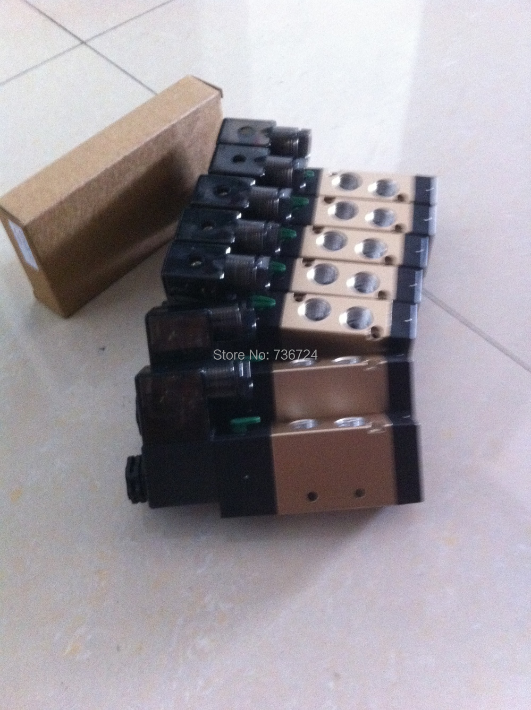 110V ac airtac solenoid valve 4v210-08 airtac 4v210 08 solenoid valve original 4v210 08 airtac genuine ac220v 24v