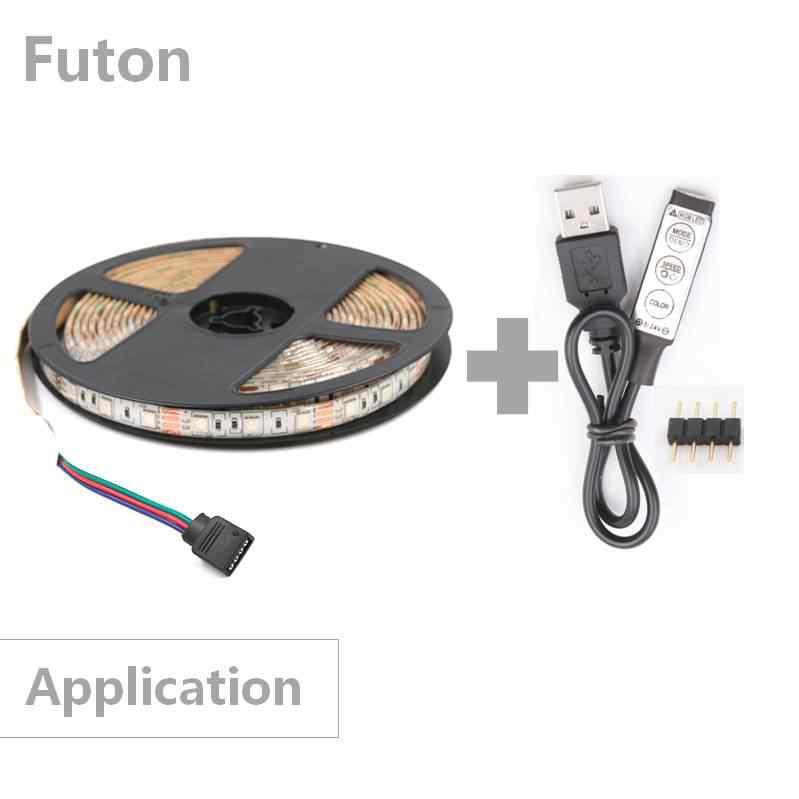 DC 5 ~ 24 V управляемый через USB RGB Светодиодные полосы переключатель ключа контроллер USB конвертер для SMD5050/2835 Светодиодный свет