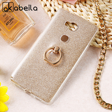 AKABEILA Phone Cover Case For Huawei Honor 5C GT3 Honor 7 Lite GR5 Mini Honor5C Honor7 Lite 5.2 inch Case Glitter Silicone Cover